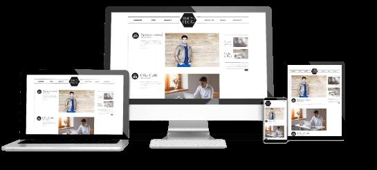 レスポンシブWebデザインのイメージ写真