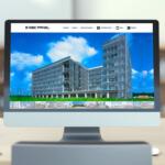 建材メーカーのウェブサイト