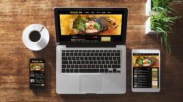 ラーメン店 WEBサイト