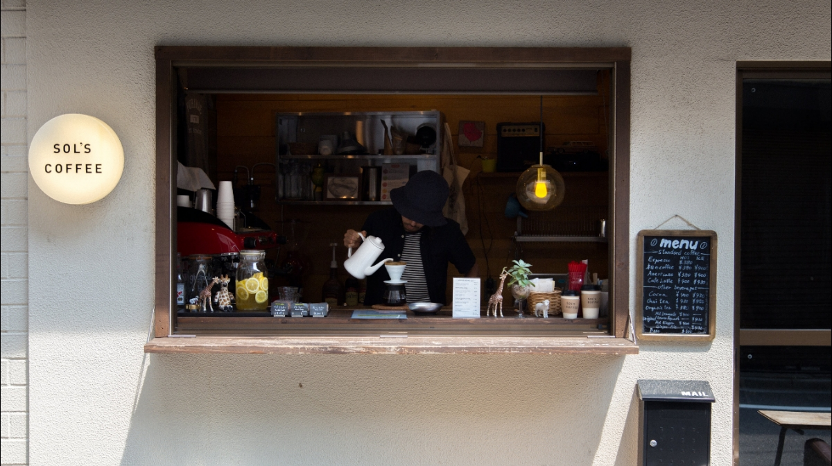 SOL'S COFFEE STANDの写真