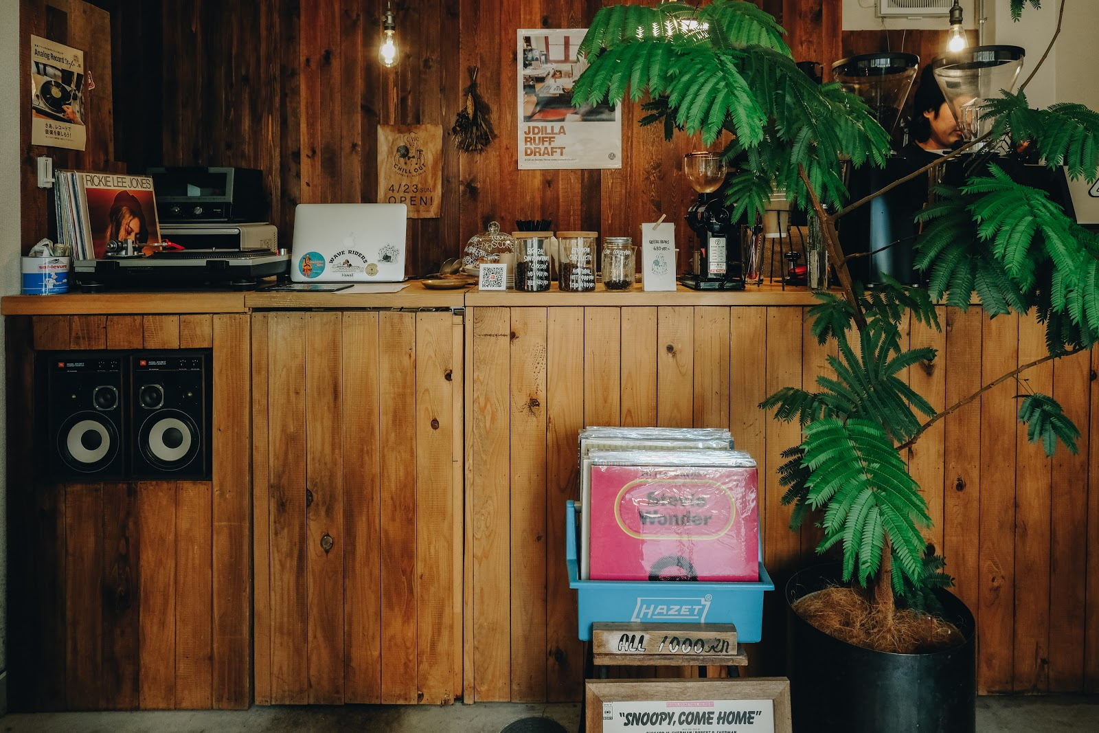 CHILL OUT COFFEE &...RECORDSの風景