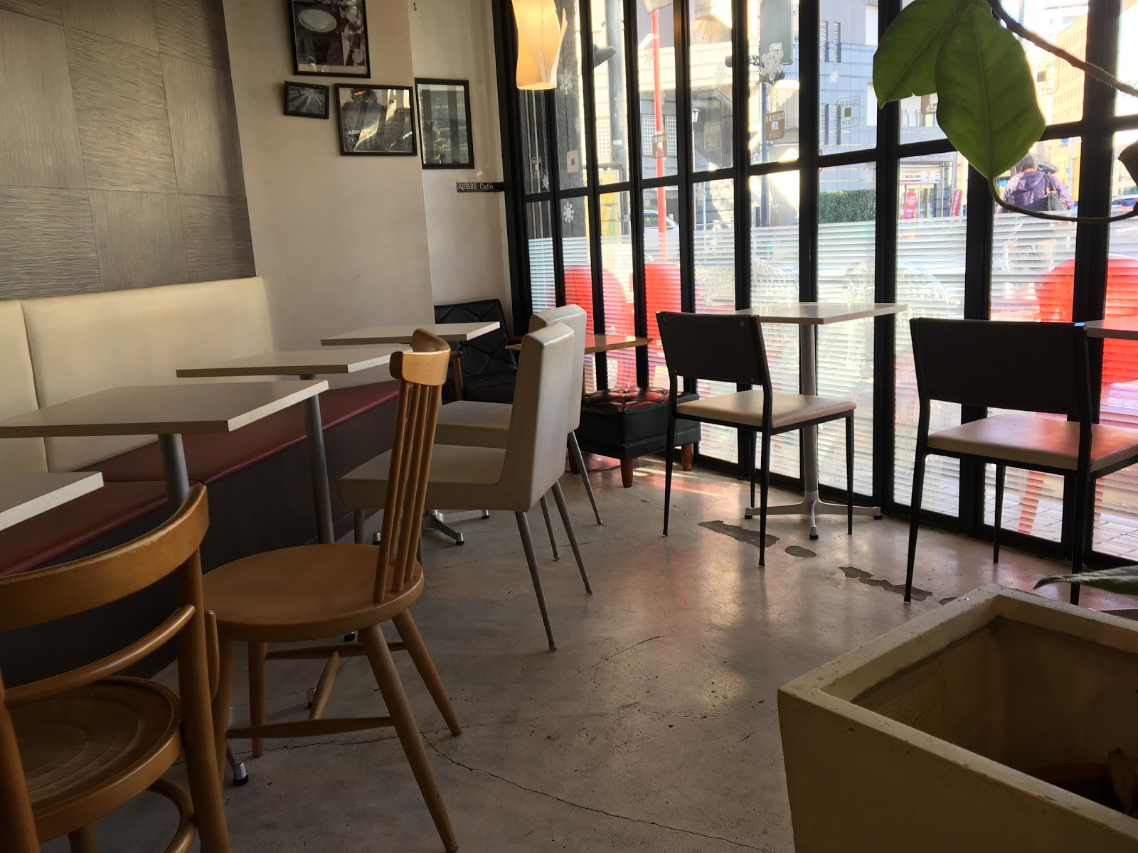 SQUARE Cafe 東日本橋 本店にて