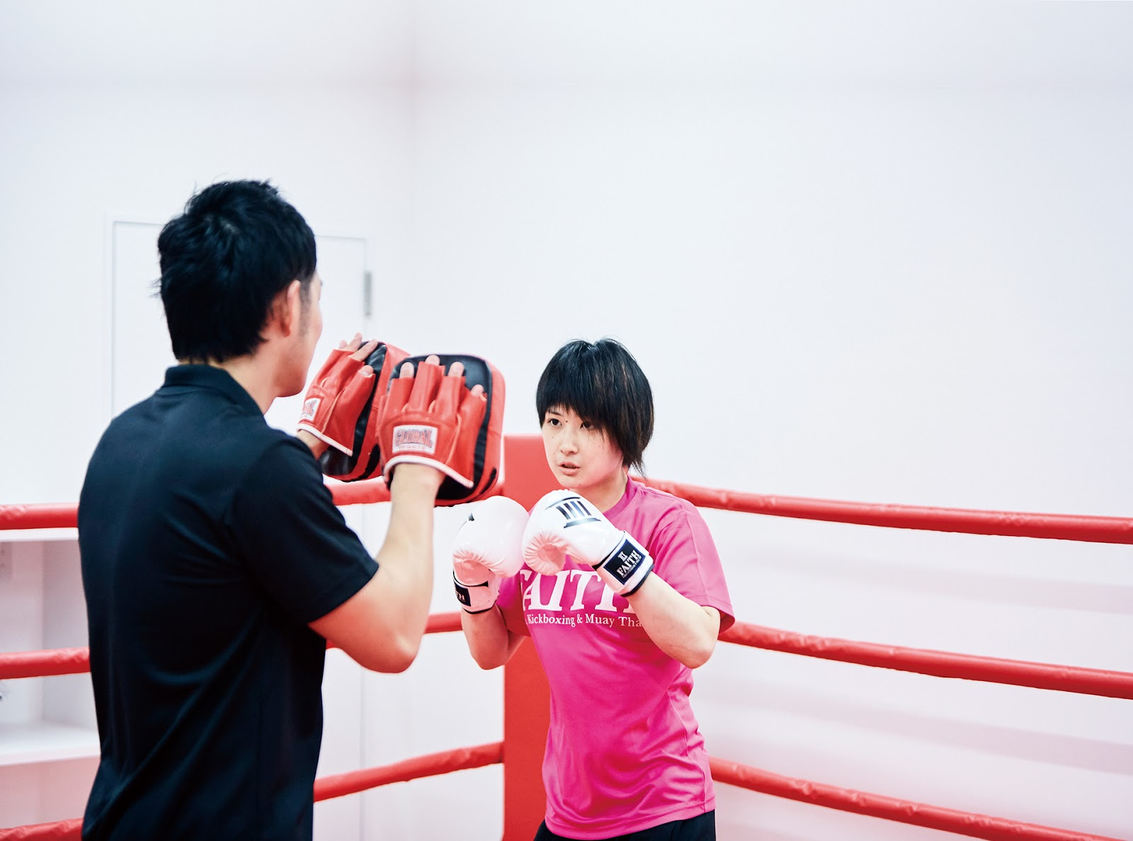 FAITH - Fitness, Kickboxing & Muay Thaiにて